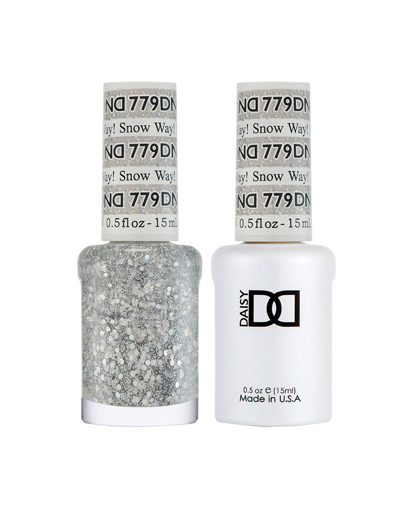 DND 779 Snow Way! - DND Duo Gel + Lacquer