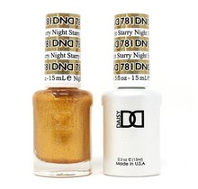DND Duo Gel Matching Color - 781 Starry Night
