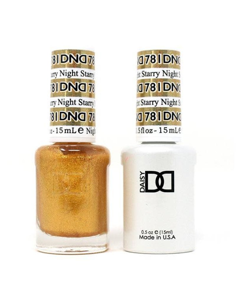 DND 781 Starry Night - DND Duo Gel + Lacquer