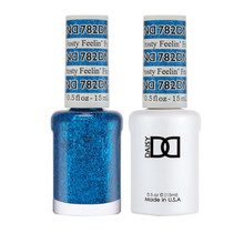 DND Duo Gel Matching Color - 782 Feelin's Frosty