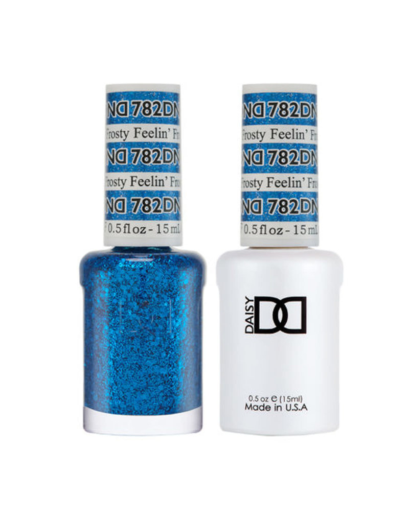 DND 782 Feelin's Frosty - DND Duo Gel + Lacquer