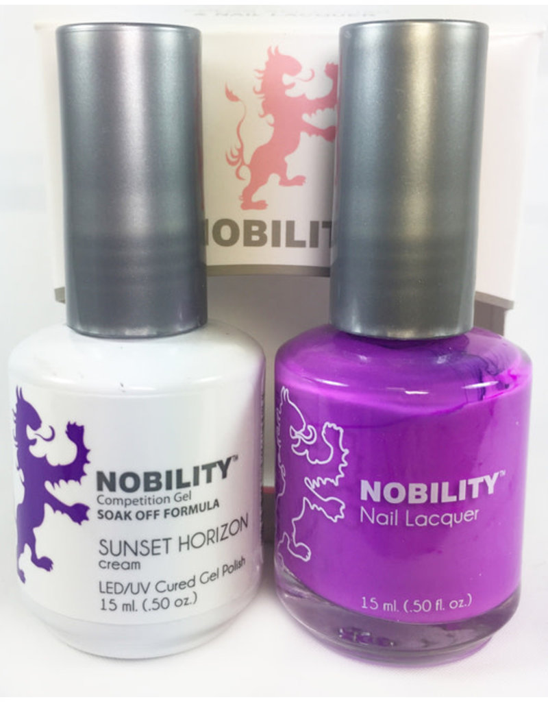 Nobility NBCS120 Sunset Horizon - Nobility Duo Gel + Lacquer