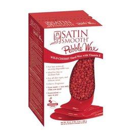 Satin Smooth Satin Smooth Pebber Wax 35oz (990gr) - Wild Cherry with Vitamin E