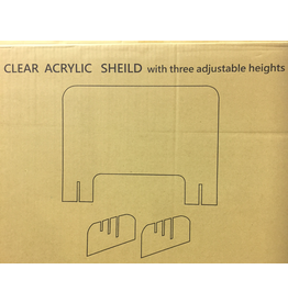 TABLE SHIELD - With Three Adjustable Heights