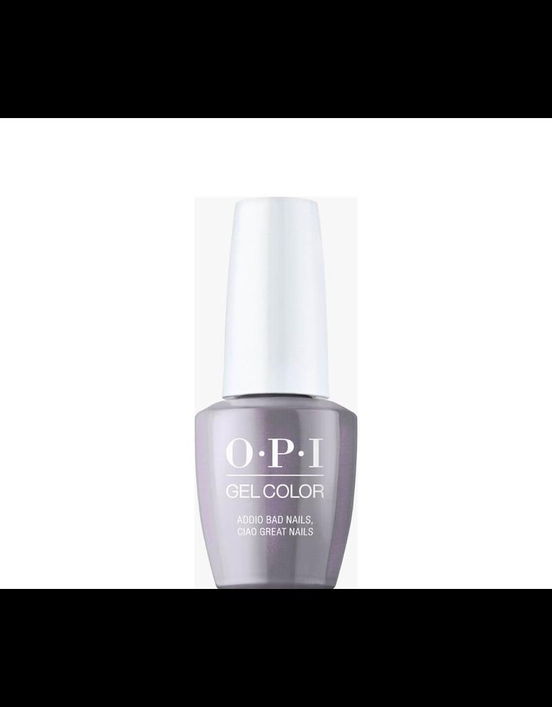 OPI GC MI10 - Addio Bad Nails, Ciao Great Nails - OPI Gel Color