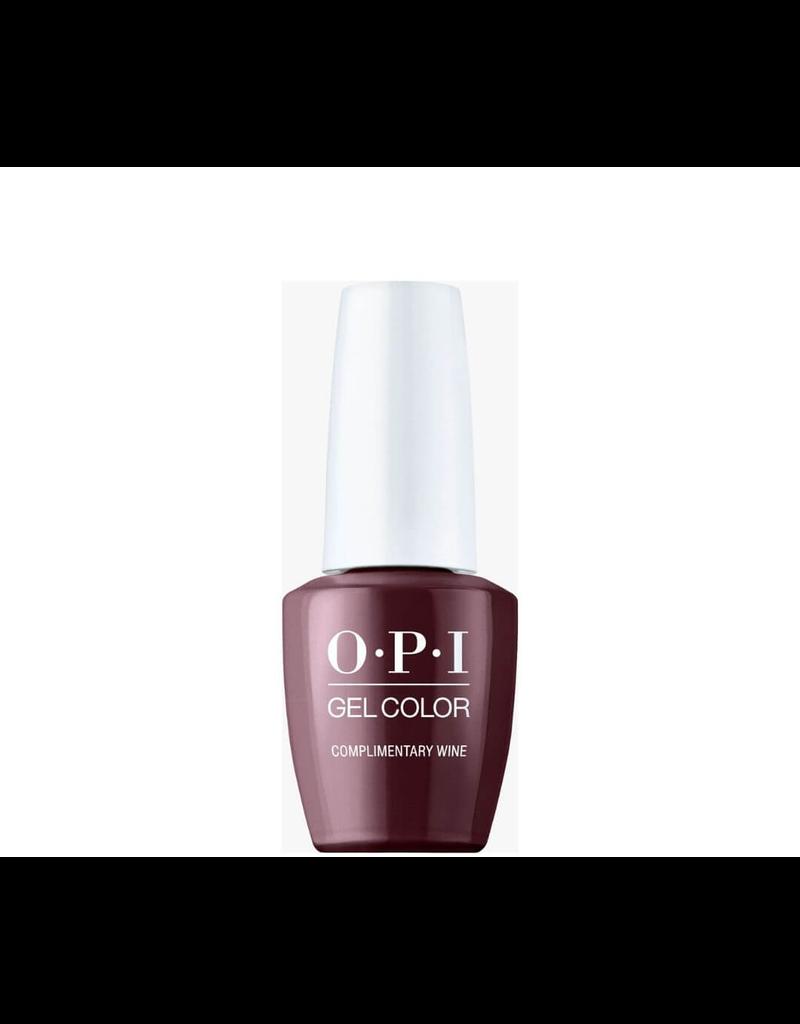 OPI GC MI12 - Complimentary Wine - OPI Gel Color