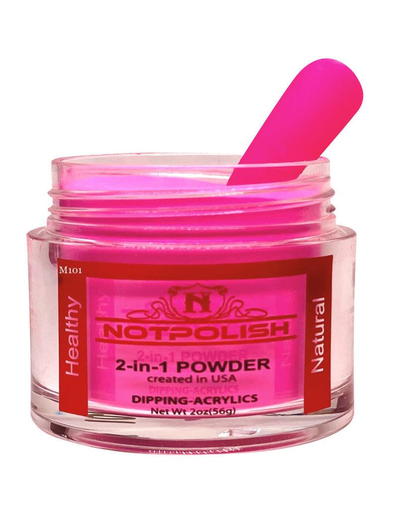 NOTpolish Notpolish 2-in1 Powder 2 oz. - M101 Cotton Candy