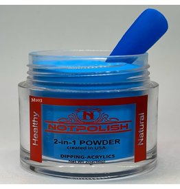 NOTpolish Notpolish 2-in1 Powder 2 oz. - M103 Brain Freeze