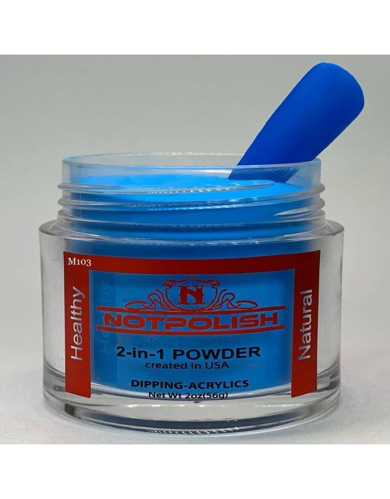 NOTpolish Notpolish 2-in1 Powder 2 oz. - M103 Brain Freeze