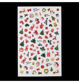 F271 Nail Sticker - Christmas