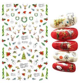 F272 Nail Sticker - Christmas