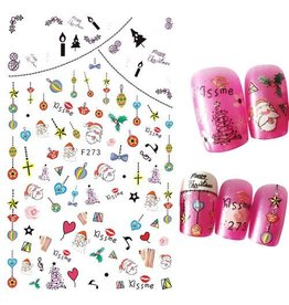 F273 Nail Sticker - Christmas