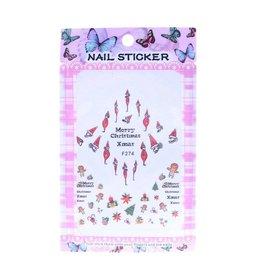 F274 Nail Sticker - Christmas