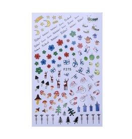 F275 Nail Sticker - Christmas