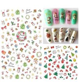 F279 Nail Sticker - Christmas