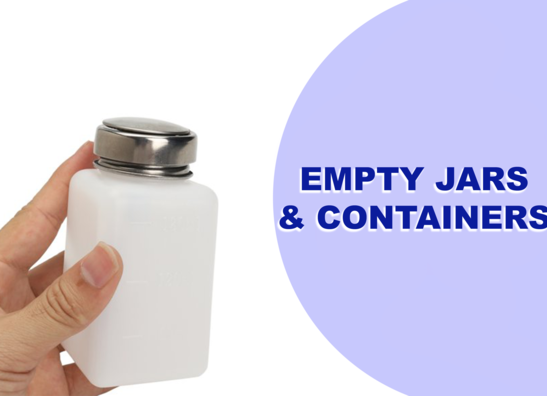 EMPTY JAR & CONTAINERS