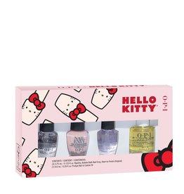 OPI Hello Kitty Mini Nail Care Set - 0.125 fl. oz (Nail Envy, Rapi Dry, Start To Finish, Cuticle Oil)