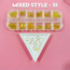 3D NAIL CHARM - MIXED STYLE - S1 (Box of 12)