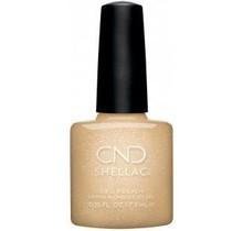 CND Shellac - 0.25 fl. oz / 7.3ml - Get That Gold