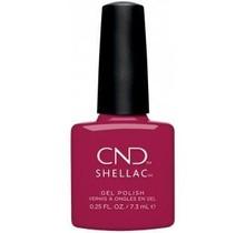 CND Shellac - 0.25 fl. oz / 7.3ml - How Merlot