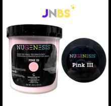 NUGENESIS - Nail Dipping Color Powder #Pink III (454 g 16 oz)