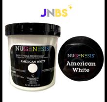 NUGENESIS - Nail Dipping Color Powder #American White (454 g 16 oz)