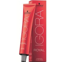 #6-6 Dark Blonde Chocolate 60g - Royal IGORA Schwarzkopf Permanent Color Creme