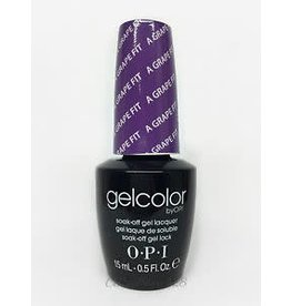 OPI GC B87 - A Grape Fit - OPI Gel Color