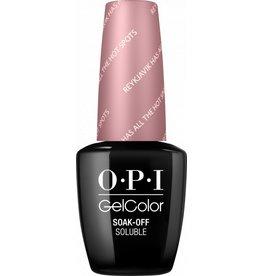 OPI GC I63 - Reykjavik has All the Hot Spots - OPI Gel Color