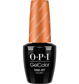 OPI GC W59 - Freedom of Peach - OPI Gel Color