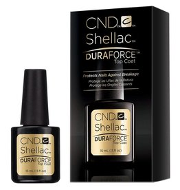 CND CND Shellac Duraforce™ Top Coat, 0.5 oz (15 ml)