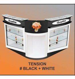 RECEPTION TENSION - BLACK & WHITE