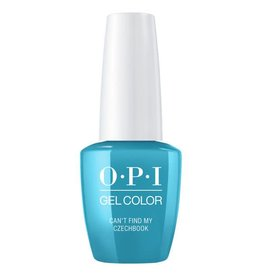 OPI GC E75 - Can't Find My Czechbook - OPI Gel Color