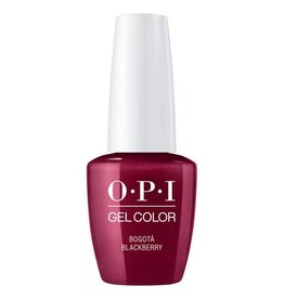 OPI GC F52B - Bogota Blackberry - OPI Gel Color