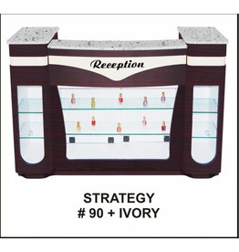 JESSICA Nail & Beauty Supply Ltd. Reception Desk Strategy_Ivory