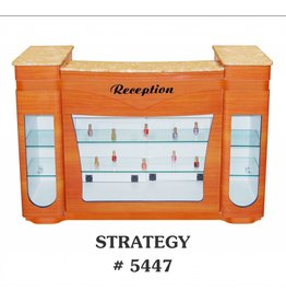 JESSICA Nail & Beauty Supply Ltd. Reception Desk Strategy_Orange