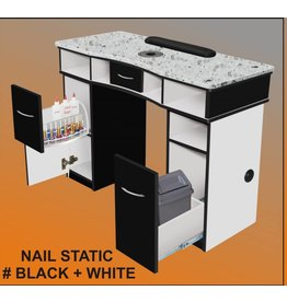 JESSICA Nail & Beauty Supply Ltd. Nail Table Single Static_Black & White