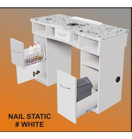 Nail Table Single_Static_White