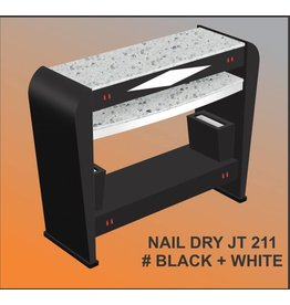 JESSICA Nail & Beauty Supply Ltd. Nail Dry Table_JT 211_Black & White