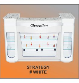 JESSICA Nail & Beauty Supply Ltd. Reception Desk Strategy_White