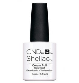 CND CND Shellac (L) - Cream Puff  2x More/Plus 15ml - Limited Edition