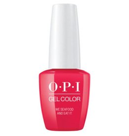OPI GC L20 - We Seafood and Eat It - OPI Gel Color