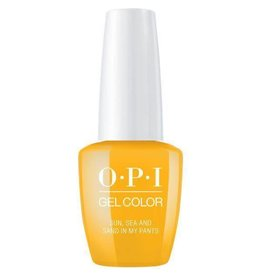 OPI GC L23 - Sun, Sea and Sand in My Pants - OPI Gel Color