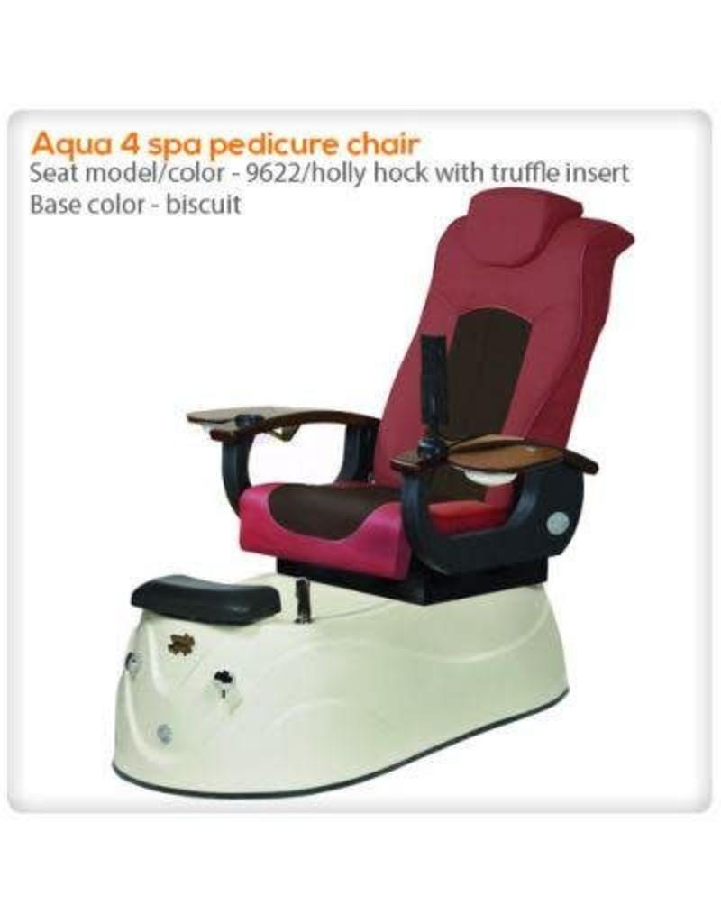 AQUA Spa Aqua Spa 4 - 9622 Hollyhock Chairs - Biscuit Base