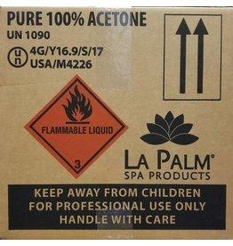 LA PALM La Palm  Acetone 100% - 4 GL or 1 CASE