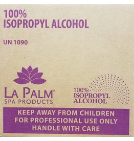 LA PALM La Palm  Isopropyl Alcohol 100% - 1 CASE