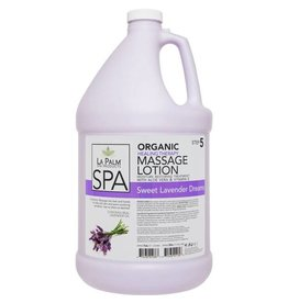 LA PALM La Palm - Organic Healing Therapy Lotion - Sweet Lavender Dream - 1gl