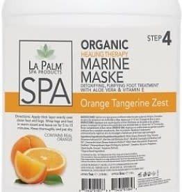 LA PALM La Palm - Organic Marine Mask -Orange Tangerine Zest - 1Gl