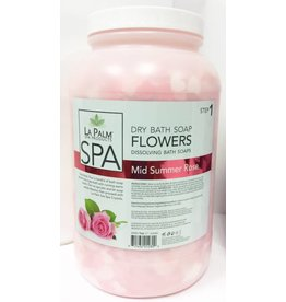 LA PALM La Palm - Dry Bath Soap -  Mid Summer Rose - 1gl