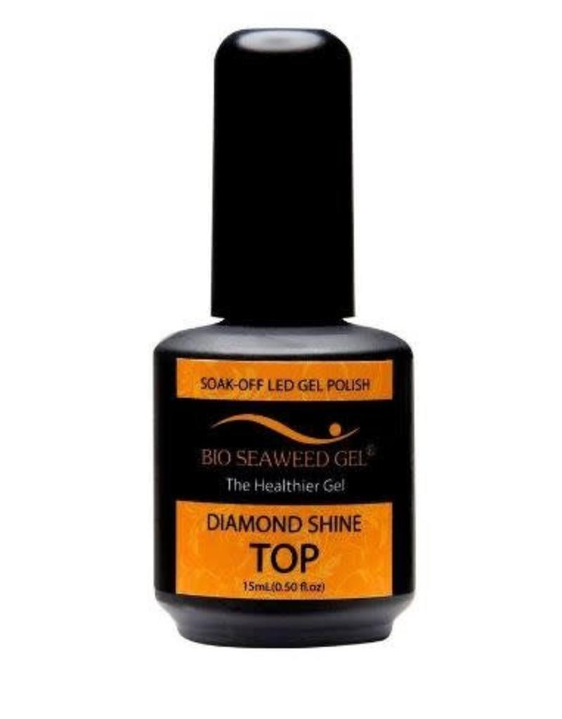 Bio Seaweed Gel Diamond Shine Top Coat 15ml - Bio Seaweed Gel Color